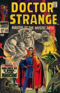 Dr Strange comic cover