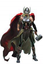 female Thor Puzzle Quest