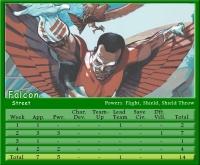 Falcon Stat Card