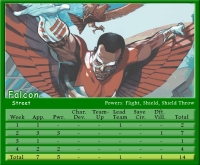 Falcon Stat Card