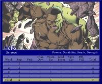 Hulk Stat Card