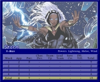 Storm Stat Card