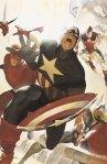 Captain America Leading