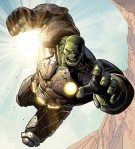 Hulk Armored Leaping