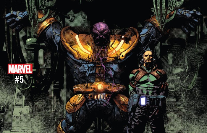 Thanos #5 Review Cover Feature