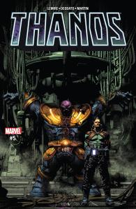 Thanos #5 Review Cover